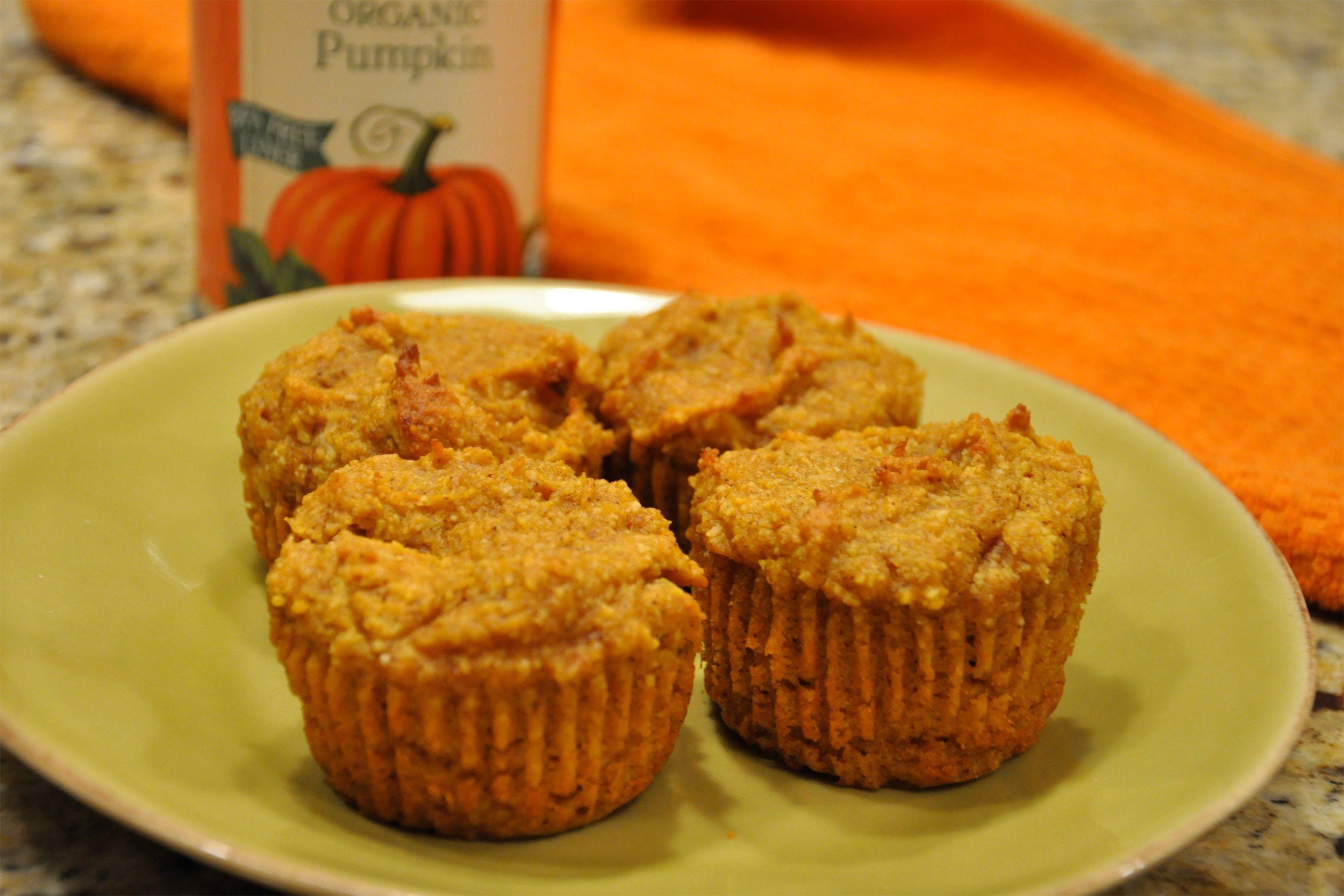 low carb pumpkin muffins coconut flour