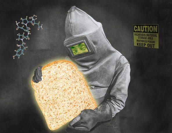 gluten bread funny picture