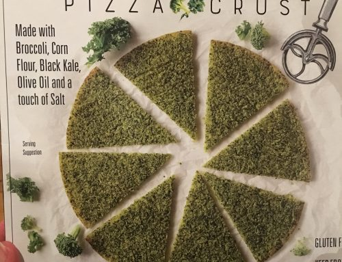 Broccoli & Kale Pizza Crust
